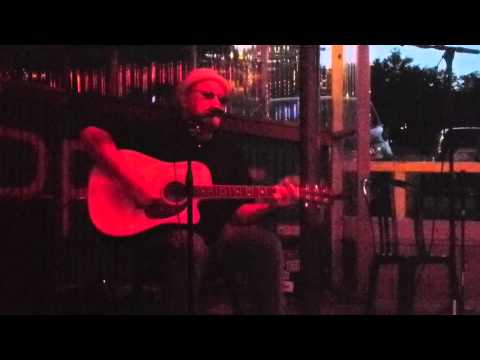 David D. Stewart at Bill Carter's Songwriter Showcase, Maria's Taco XPress, Austin, Tx, 8/4/2012