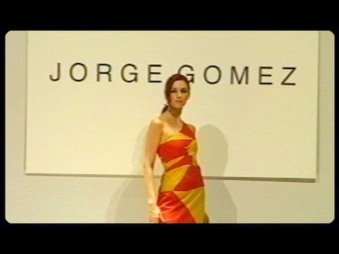 Jorge Gomez Spanish designer Fashion show video @ web62.com Internet TV