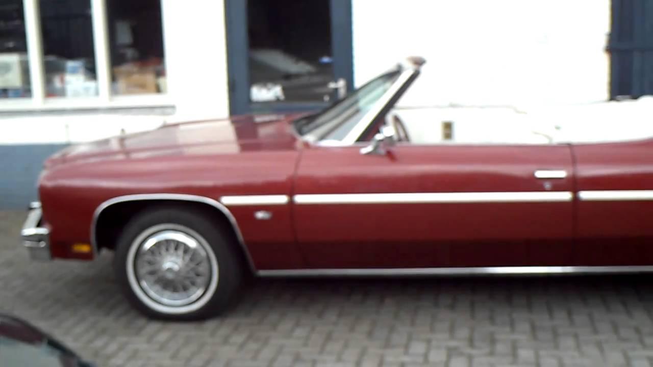 Chevrolet Caprice Classic Convertible 1975 - YouTube