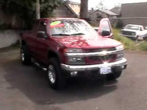 2006 Chevrolet Colorado 4x4 5-speed PK5865 - YouTube