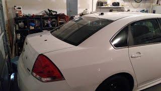 Police Car Trunk & Roof Repair