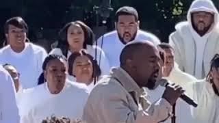 Kanye West performs Jesus Walk at Sunday Service