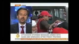 AL JAZEERA TV REPORTS THE ATTACKS ON AHMADIYYA MOSQUES IN LAHORE