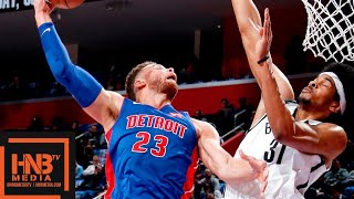 Brooklyn Nets vs Detroit Pistons Full Game Highlights | 10.17.2018, NBA Season