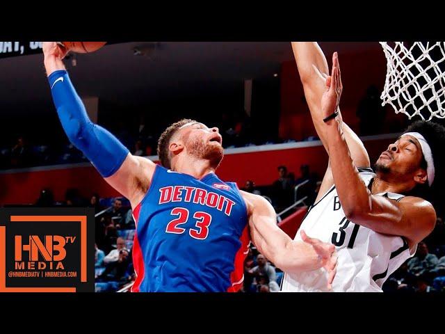 Brooklyn Nets vs Detroit Pistons Full Game Highlights | 10.17.2018, NBA Season