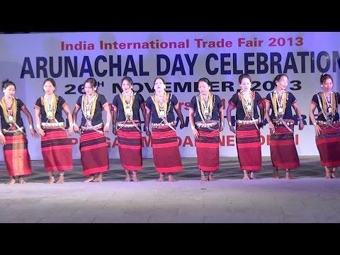 Arunachal Pradesh : Cultural Programme : IITF 2013 : Pragati Maidan Trade Fair : New Delhi