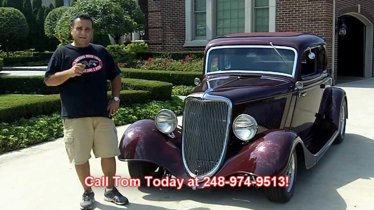 1934 Ford Street Rod 4 Speed Classic Muscle Car for Sale in MI Vanguard Motor Sales - YouTube  sc 1 st  YouTube & 1934 Ford Street Rod 4 Speed Classic Muscle Car for Sale in MI ... markmcfarlin.com