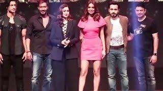 Baadshaho Team Grand Entry At Trailer Launch   Ajay Devgn, Ileana D'Cruz, Emraan Hashmi, Esha Gupta