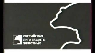 """Заставка """"Лига защитников животных"""" 2002 года"""
