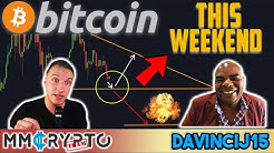 DavinciJ15 - MASSIVE BITCOIN MOVE IS NEAR!!! Daily Close for Bitcoin Price DECISIVE!!