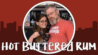 How to Make Hot Buttered Rum - Holiday Cocktails!