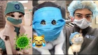 Wear A Mask To Prevent Viruses -funny clips #19