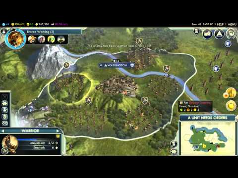 3.1 - The True (and Accurate) History of The Iroquois League - 300th Video! (Civilization V)