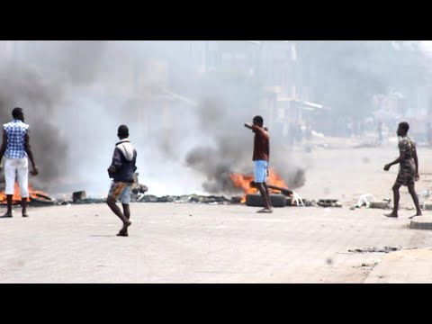 Togo police and opposition protesters clash in third day of unrest