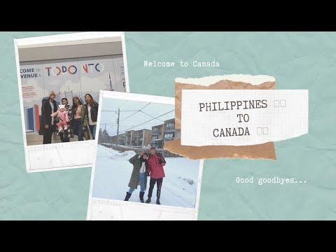 PHILIPPINES TO CANADA  🍁