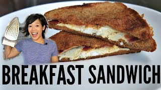 Cooking With an IRON: BREAKFAST SANDWICH - Will It Work?