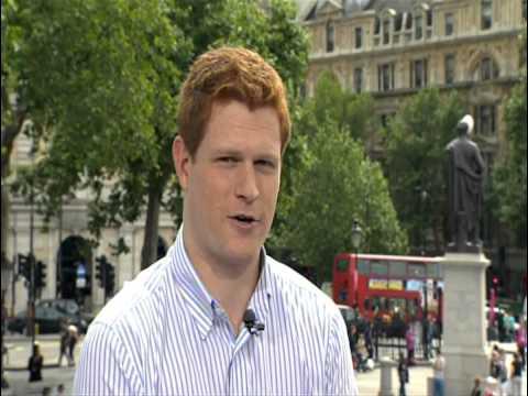 Jamie Clark CBC Prince Harry Interview London Olympics