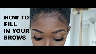 HOW TO FILL IN YOUR BROWS Mp3
