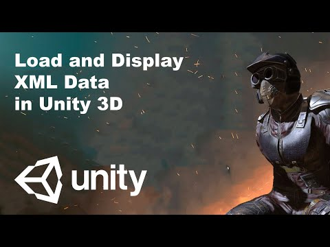 Load and Display XML Data in Unity 3D