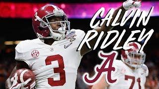 Calvin Ridley    Best WR In College Football    2017 Alabama WR Highlightsᴴᴰ