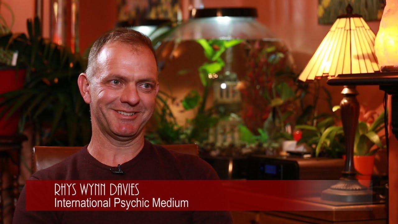 Diana Luke interviews psychic medium Rhys Wynn Davies