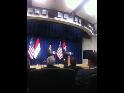 Nouri al Maliki Obama