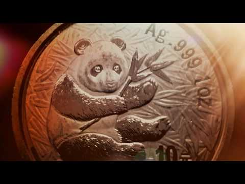 2000 Chinese Panda One Ounce .999 Silver Bullion Coin