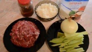 Тефтели в томатном соусе! Очень простой способ приготовления!