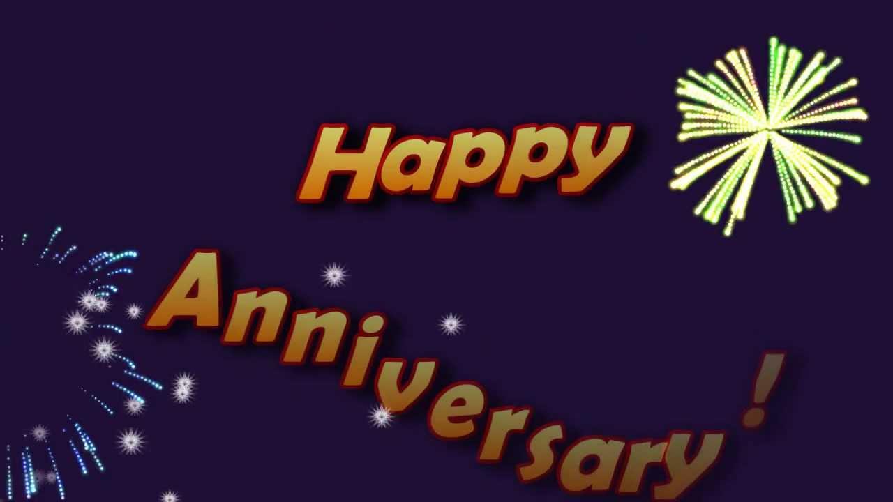 ecard anniversary fireworks youtube