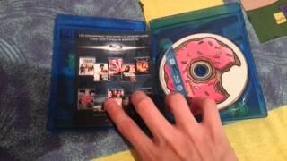MrBlackParade Распаковка blu-ray Симпсоны в Кино
