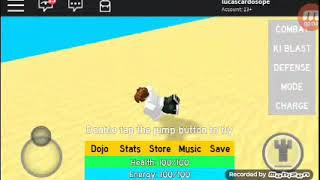 Nsinando to train on the Roblox ki on mobile