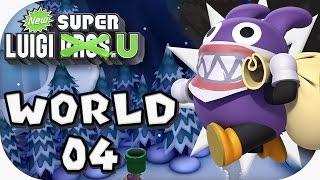 New Super Luigi U: World 04 (4 players)