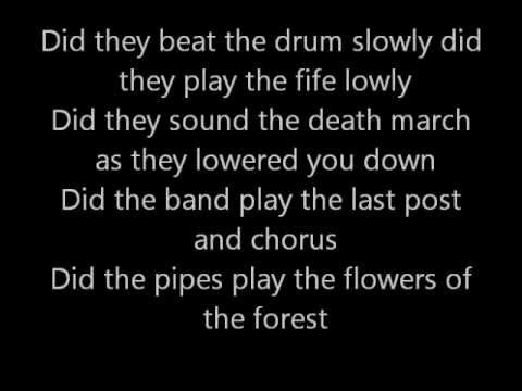 The Green Fields Of France W/ Lyrics - YouTube
