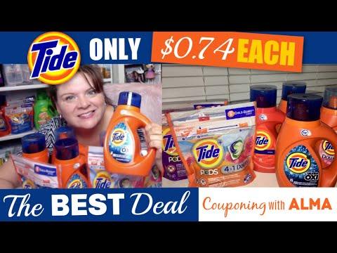 The BEST Tide Coupon Deal For Just $0.74 Each!