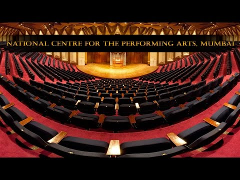 NCPA (National Centre for the Performing Arts), Mumbai - Inside Tour [Full HD]