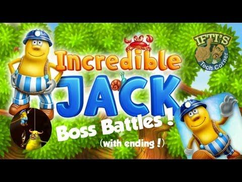 Incredible Jack - Boss Battles (Chillingo) - Including Ending!