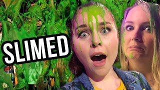 We Got SLIMED by Nickelodeon!! (Lunchy Break)