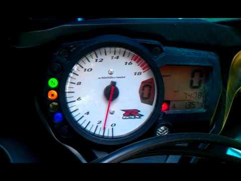 2007 Suzuki GSXR 600 PROBLEM