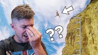 I JUMPED OFF A CLIFF! It Didn't Go Very Well...
