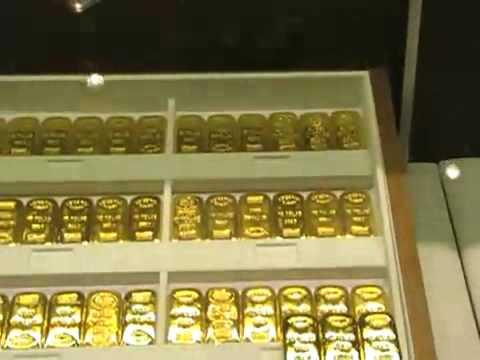 Gold Bullion store at Dubai International Airport Duty Free