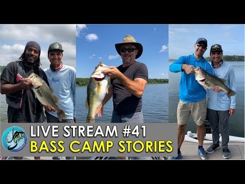 Bass Camp Stories | Fish The Moment Live Stream #41