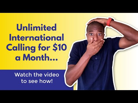 UNLIMITED International Calling for $10 Month with Zoom Phone