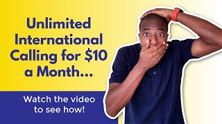 UNLIMITED International Calling for $10 Month with Zoom Phone screenshot 4