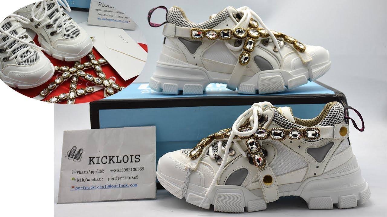 Gucci Flashtrek Sneakers Review \u0026 On