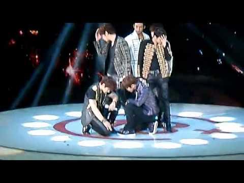 [Fancam] 120502 2PM @ Hunan Satellite TV Eighteen's Choice - Again&Again + HANDS Up