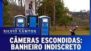 Câmeras Escondidas (03/04/16) - Banheiro Indiscreto