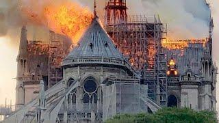 Incendio cattedrale Notre Dame a Parigi: i video del rogo. Brucia il monumento simbolo