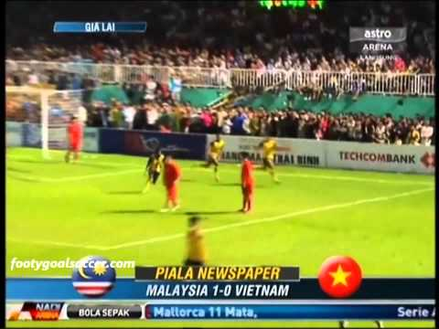 Vietnam U21 vs Malaysia U21 (0-1) Newspaper Cup Final 21-10-12