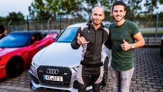 Im 735PS ABT Audi RS6 zur Nordschleife! | Daniel Abt