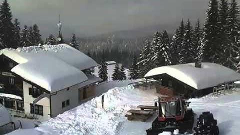 Webcam Zeitraffer Hindenburghütte Winter 2012/13